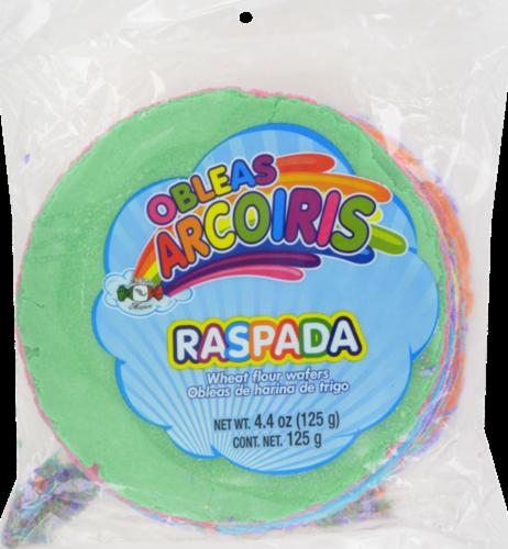 Obleas Arcoiris Rasada Perspective: front