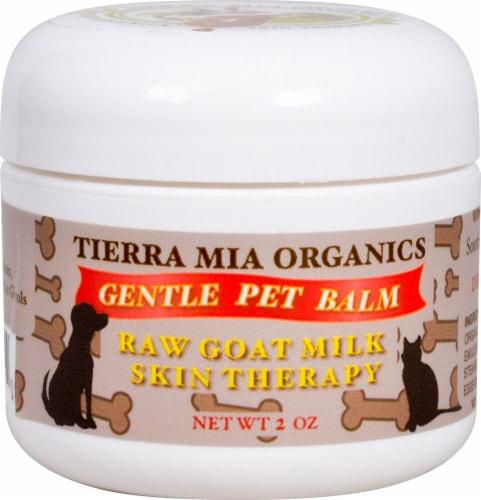 Tierra Mia Organics  Gentle Pet Balm Perspective: front