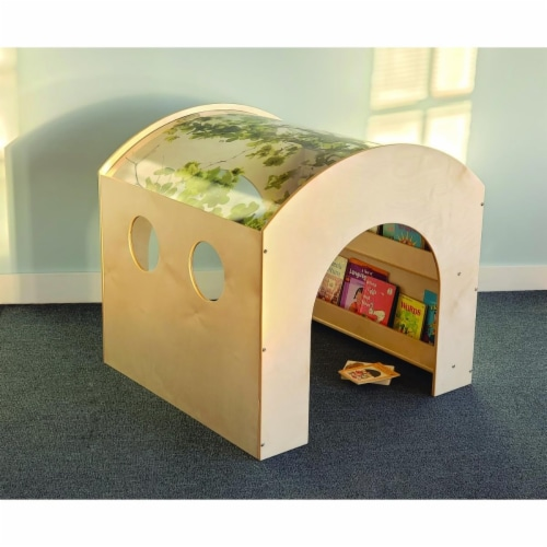 Whitney Brothers WB0109 Nature Reading Haven - 39.50 x 39 x 38 in. Perspective: front