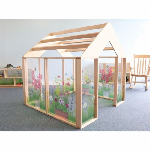Whitney Brothers WB0511 Nature View Play Greenhouse Perspective: front