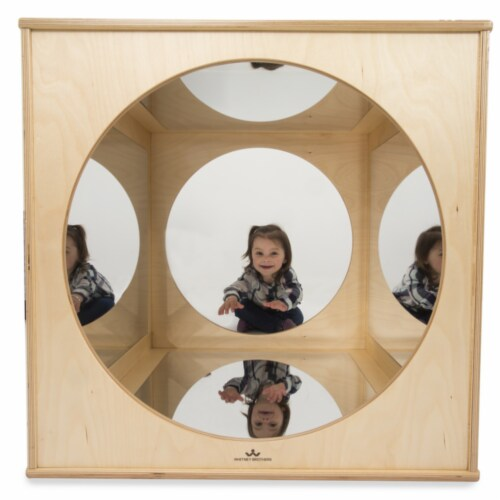 Whitney Brothers WB1846 Kaleidoscope Play House Cube, Natural UV Perspective: front