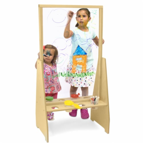 Whitney Brothers WB1862 Window Art Easel, Natural UV Perspective: front