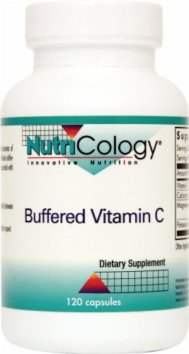 NutriCology  Buffered Vitamin C Perspective: front