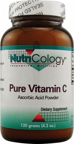 NutriCology  Pure Vitamin C Perspective: front