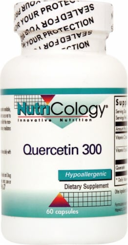 Nutricology Quercetin 300 Perspective: front
