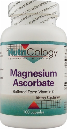 NutriCology  Magnesium Ascorbate Perspective: front