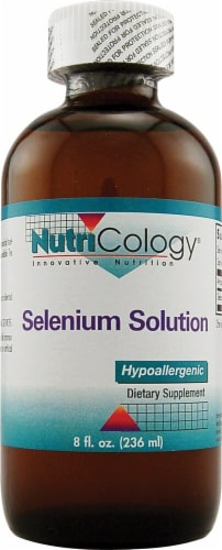 Nutricology Selenium Solution Liquid Perspective: front