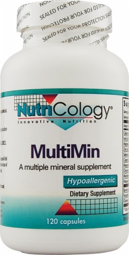 NutriCology MultiMin Capsules Perspective: front