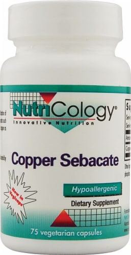 NutriCology  Copper Sebacate Perspective: front