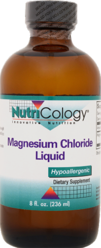 Nutricology Magnesium Chloride Liquid Perspective: front