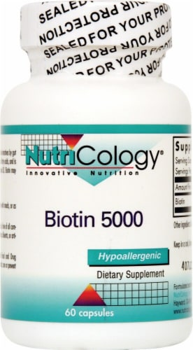 NutriCology  Biotin 5000 Perspective: front