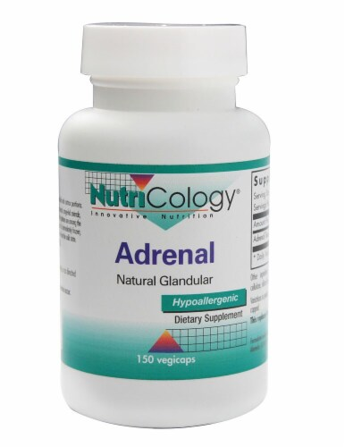 NutriCology  Adrenal Natural Glandular Perspective: front