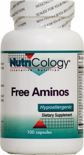 NutriCology Free Aminos Perspective: front
