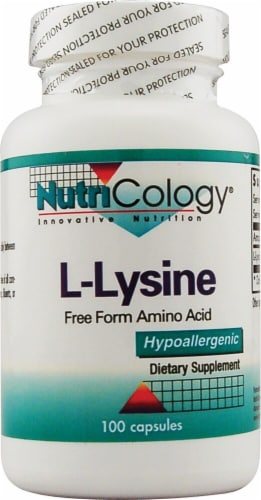 NutriCology  L-Lysine Perspective: front