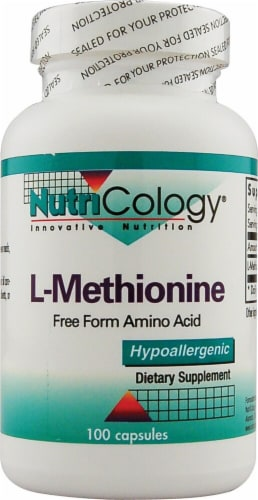 NutriCology  L-Methionine Perspective: front