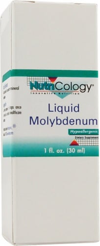 NutriCology  Molybdenum Liquid Perspective: front