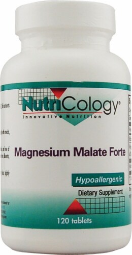 NutriCology  Magnesium Malate Forte Perspective: front