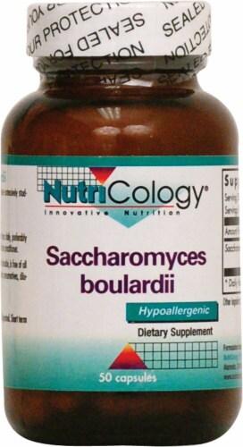 NutriCology  Saccharomyces boulardii Perspective: front