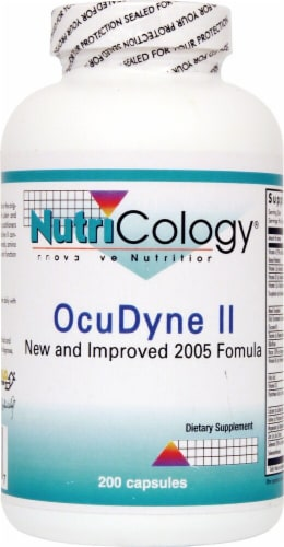 NutriCology  Ocudyne II Perspective: front