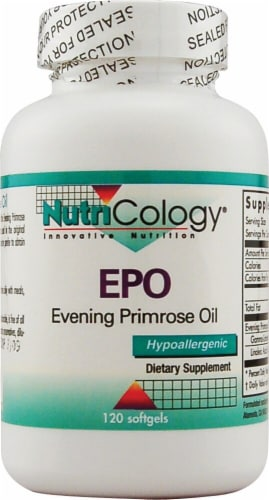 NutriCology  EPO Evening Primrose Oil Perspective: front