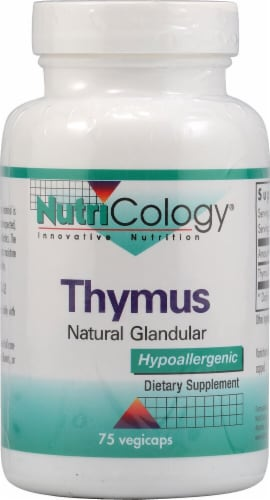 NutriCology  Thymus Natural Glandular Perspective: front