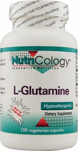 NutriCology  L-Glutamine Perspective: front