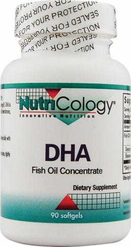 NutriCology  DHA Fish Oil Concentrate Perspective: front