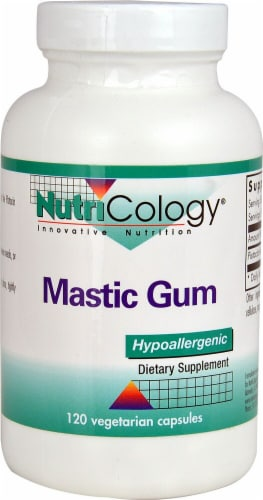NutriCology  Mastic Gum Perspective: front