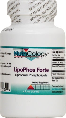 NutriCology  LipoPhos Forte Perspective: front