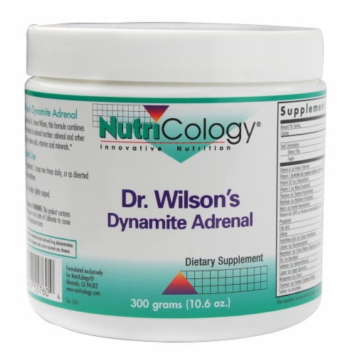 NutriCology  Dr. Wilson's Dynamite Adrenal Perspective: front
