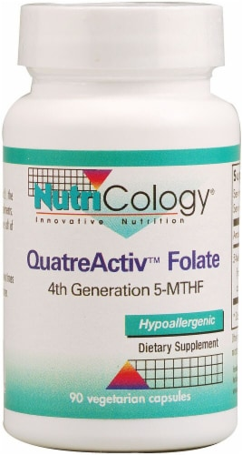 NutriCology  QuatreActiv™ Folate Perspective: front