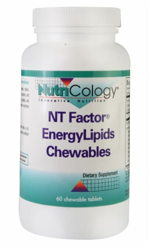 NutriCology  NT Factor® EnergyLipids Chewables Perspective: front