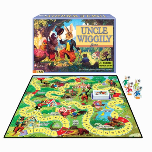 Winning Moves Games Uncle Wiggily Board Game Perspective: front
