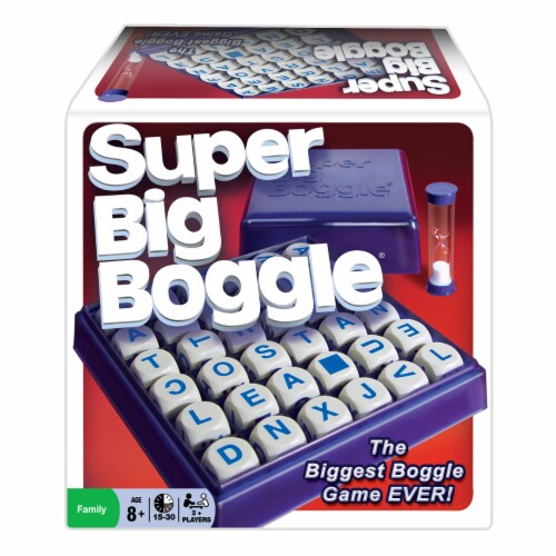 Winning Moves Games Super Big Boggle Board Game Perspective: front