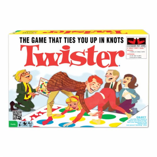 Winning Moves Games Classic Twister Board Game Perspective: front