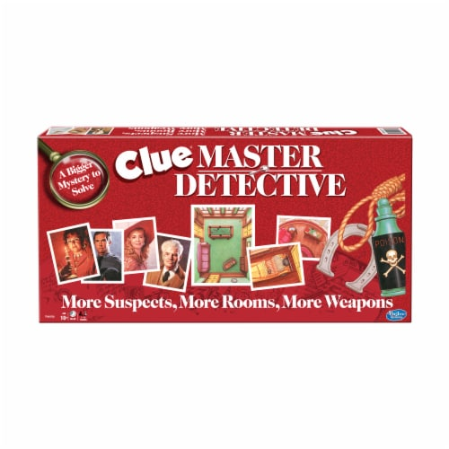 Winning Moves Games Clue Master Detective Board Game Perspective: front