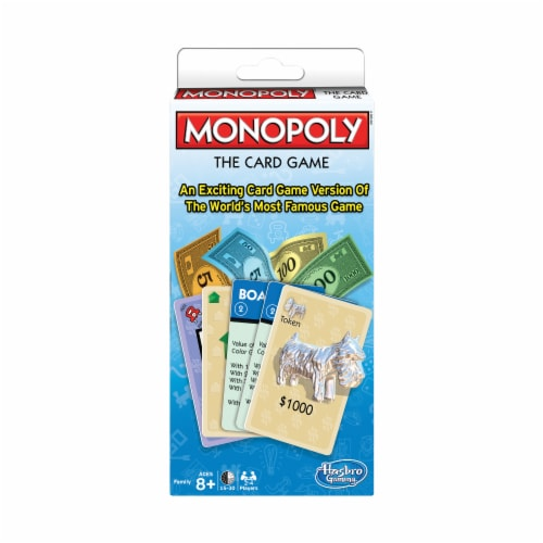 Winning Moves Games Monopoly: The Card Game Perspective: front