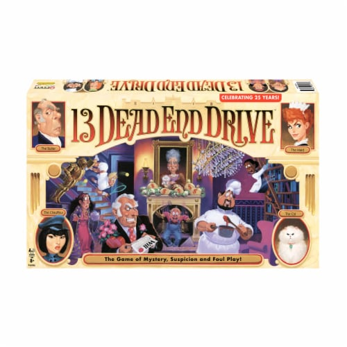 Winning Moves Games 13 Dead End Drive Board Game Perspective: front