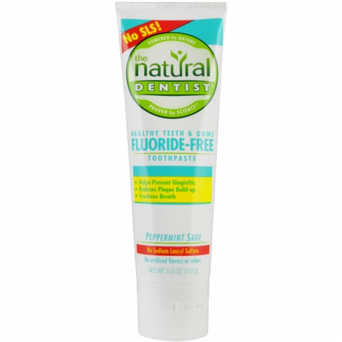 The Natural Dentist Flouride Free Toothpaste Perspective: front