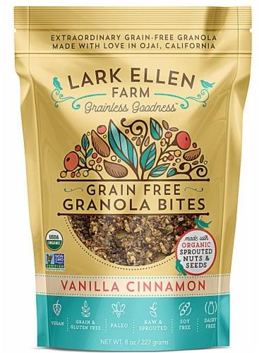 Lark Ellen Farm  Organic Grain Free Granola Bites Gluten Free   Vanilla Cinnamon Perspective: front