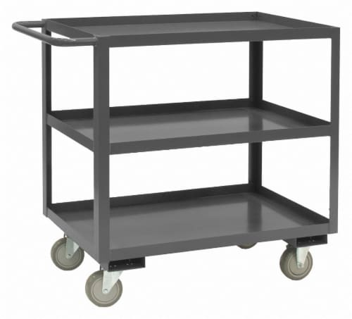 Durham Mfg Utility Cart,1,200 lb,Steel HAWA RSC-1832-3-95 Perspective: front