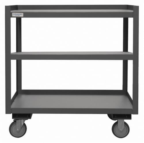 Durham Mfg Utility Cart,Steel,30 Lx24 W,1200 lb. HAWA PSD-2430-3-95 Perspective: front