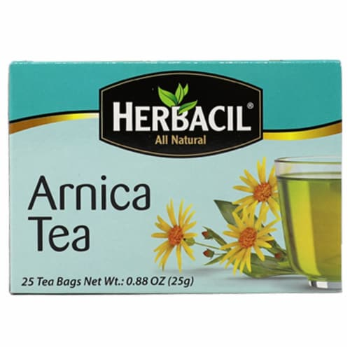 Herbacil Arnica Tea Bags Perspective: front