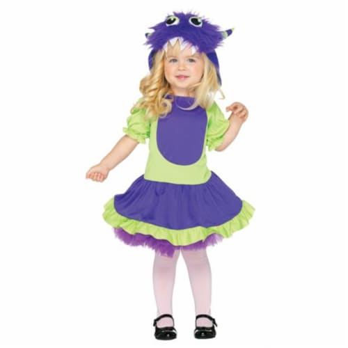 Costumes For All Occasions UAC28172TS Cuddle Monster Todd Xsm2T-3T Perspective: front