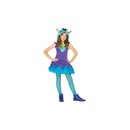 Costumes For All Occasions UAC48177SM Corss Eyed Carlie Small 4-6 Perspective: front