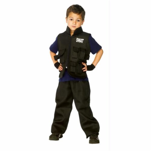 Costumes For All Occasions UAC46111SM Swat Child Small 4-6 Perspective: front