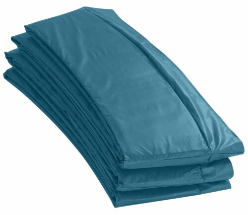 Trampoline Replacement Safety Pad Fits for 16 FT. Round Frames - Aqua Perspective: front