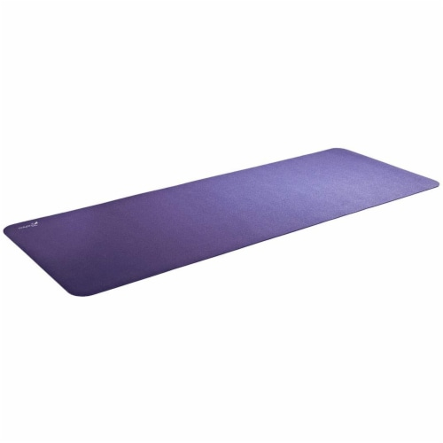 Airex Calyana Prime Closed Cell Foam Fitness Mat for Yoga and Pilates, Purple Perspective: front