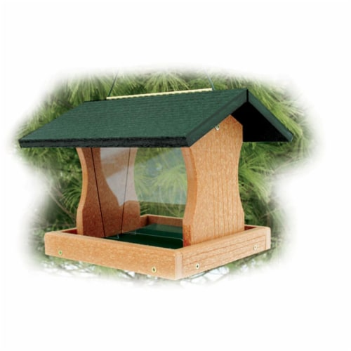 WoodLink GGPRO1 Recycled Large Premier Feeder Perspective: front
