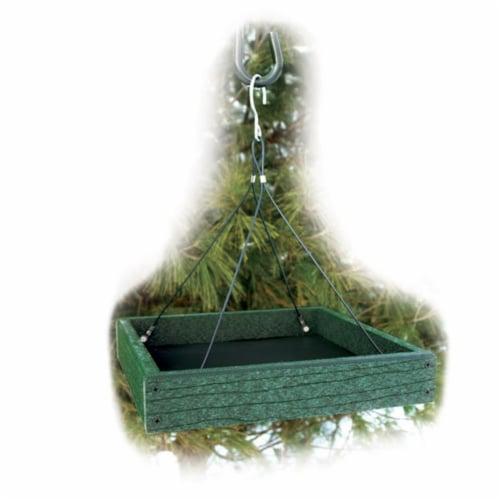 WoodLink GGPLAT Recycled Platform Feeder Perspective: front